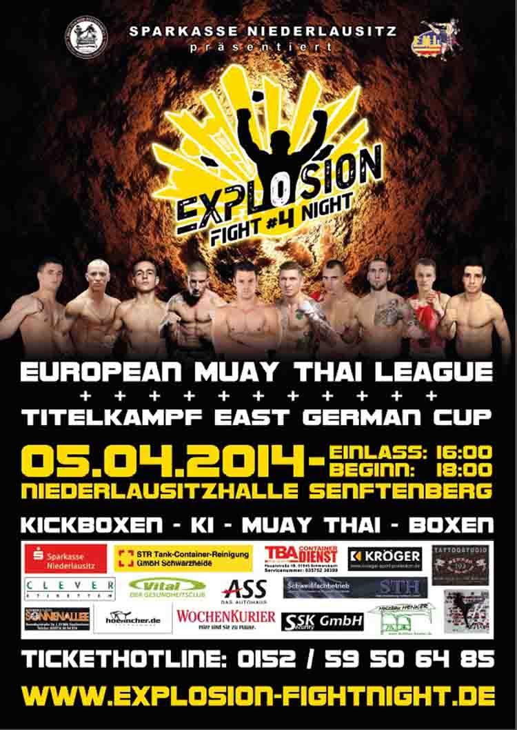 EXPLOSION FIGHT NIGHT 4