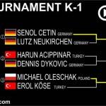 K-1 TOURNAMENT FIGHT TREE