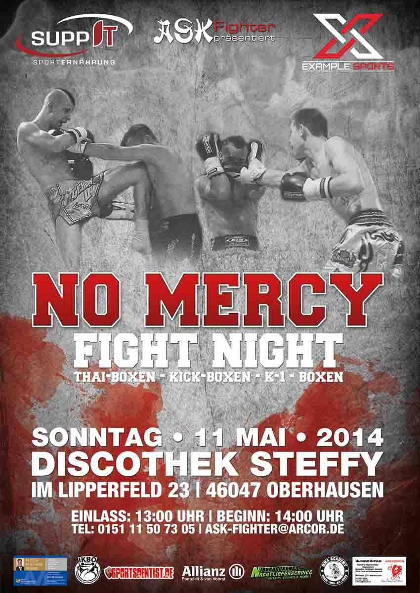 NO MERCY FIGHT NIGHT