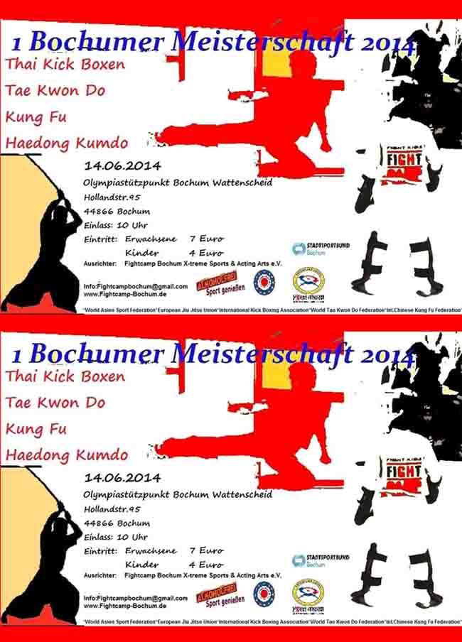 1. BOCHUMER CHAMPIONSHIP 2014