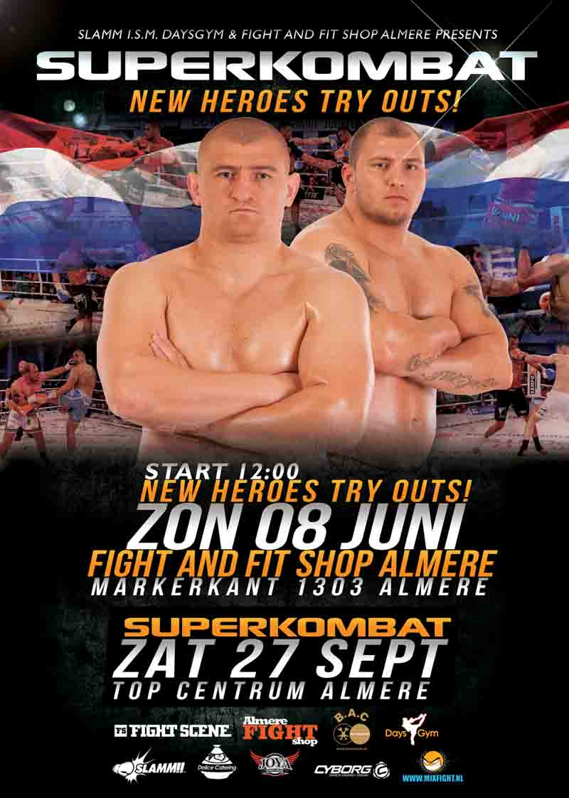 SUPERKOMBAT TRY OUTS