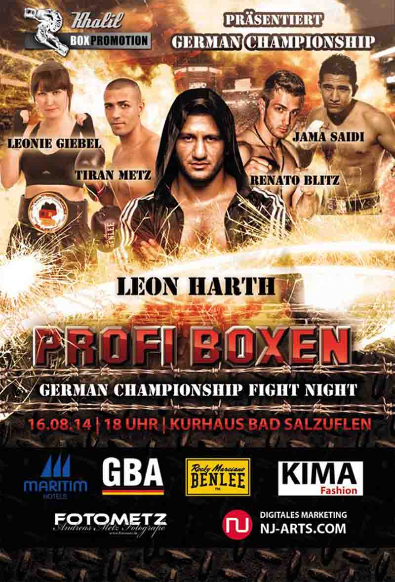 GERMAN CHAMPIONSHIP - FIGHT NIGHT