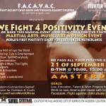 WE FIGHT 4 POSITIVITY