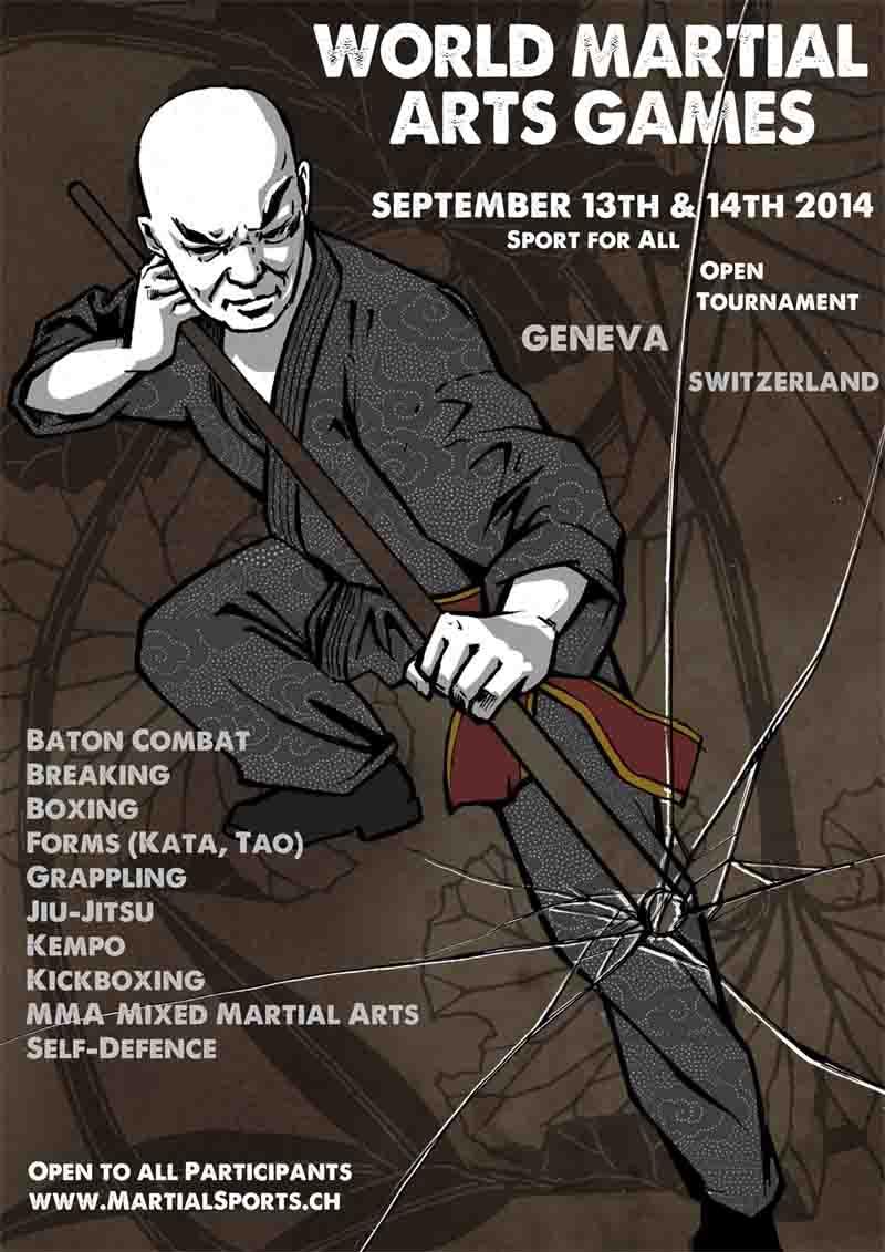 WORLD MARTIAL ARTS GAMES - GENEVA OPEN