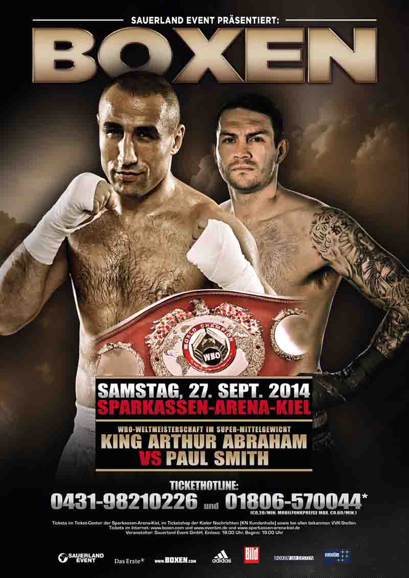 ARTHUR ABRAHAM vs. PAUL SMITH