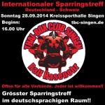 INTERNATIONALER SPARRINGSTREFF DEUTSCHLAND – SCHWEIZ