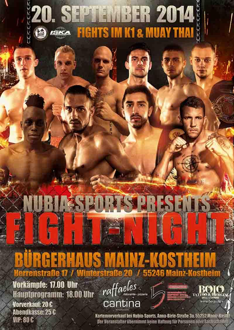 NUBIA FIGHT NIGHT