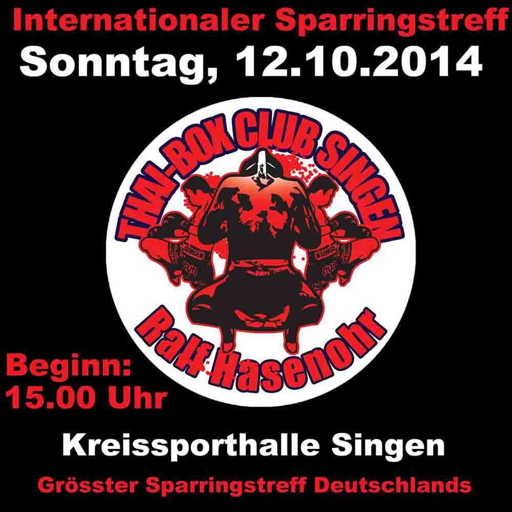 INTERNATIONALER SPARRINGSTREFF