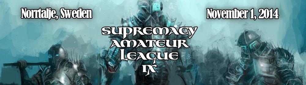 SUPREMACY AMATEUR LAGUE IX