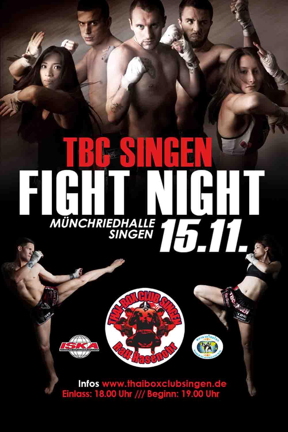 TBC SINGEN FIGHT NIGHT
