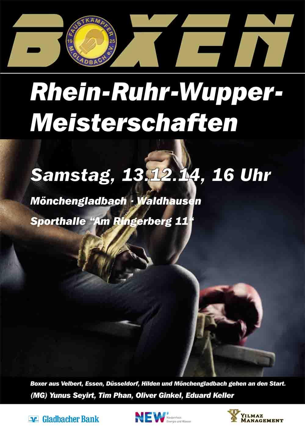 RHEIN-RUHR-WUPPER MEISTERSCHAFTEN