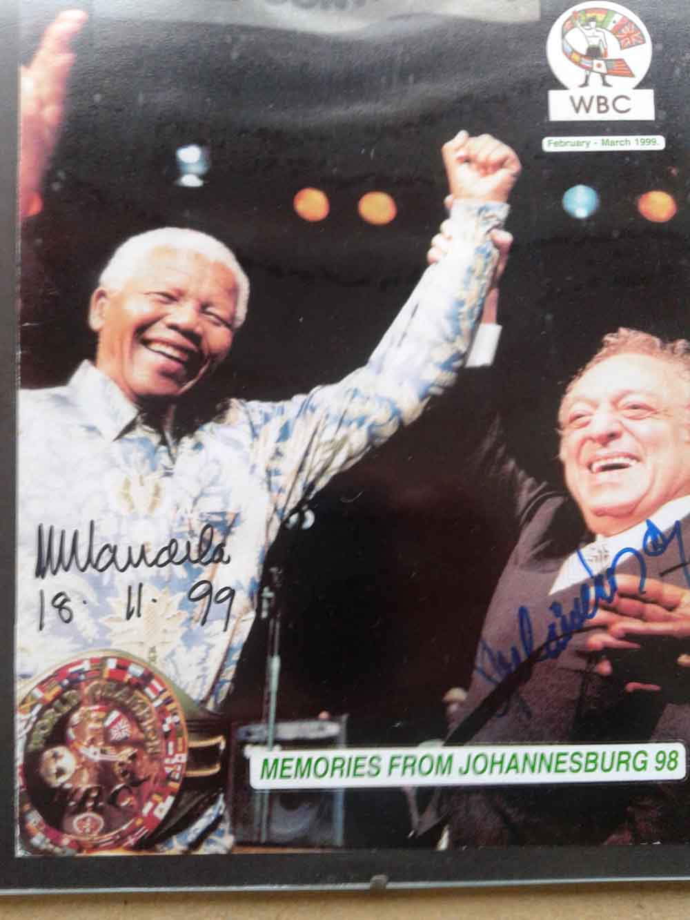 NELSON MANDELA - JOSÉ SULAIMAN