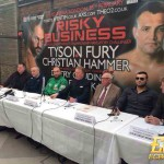 Press Conference / Tyson Fury vs. Christian Hammer