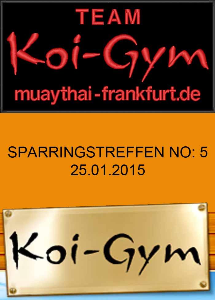 SPARRINGSTREFFEN NO: 5 TEAM KOI GYM