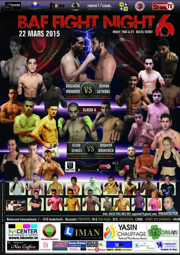 BAF - Fight Night 6