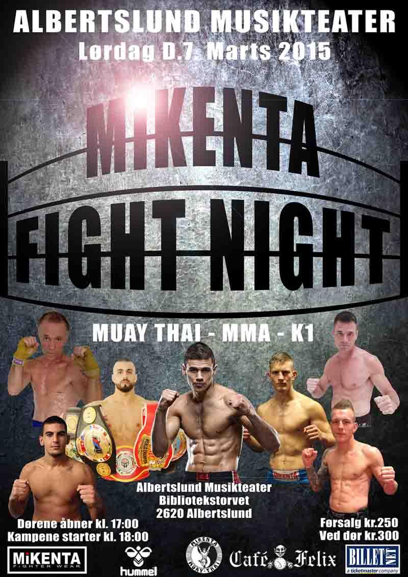 Mikenta Fight Night