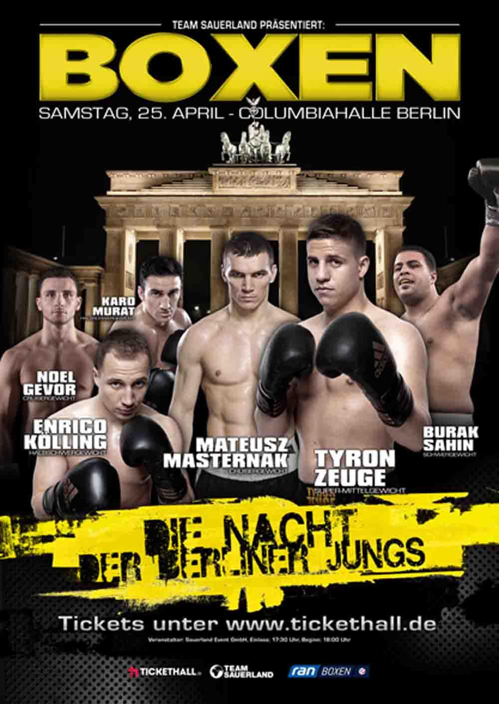Die Nacht der Berliner Jungs