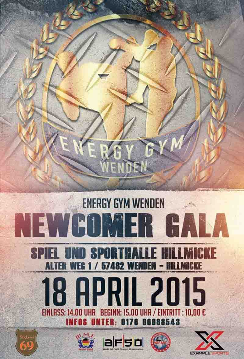 Energy Gym Wenden Newcomer Gala 2015