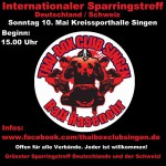 Internationaler Sparringstreff des TBC Singen