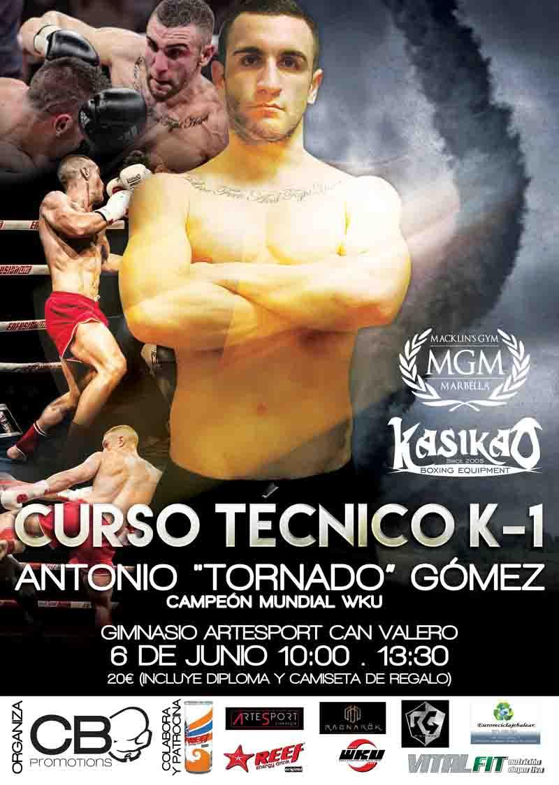"""K-1 Seminar Antonio """"Tornado"""" Gómez"""