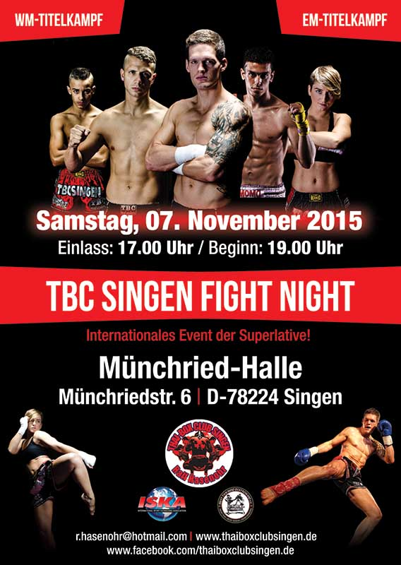 TBC Singen Fight Night